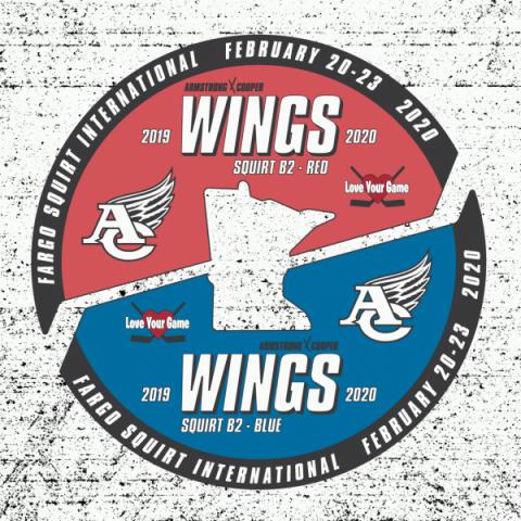 ACYHA Fargo Tournament Pin Set