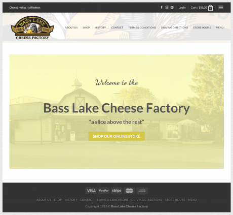 Blcheese.com – Website